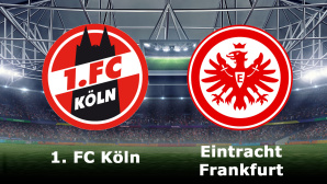 1. FC K�ln gegen Eintracht Frankfurt©1. FC K�ln, Eintracht Frankfurt, iStock.de/Masisyan