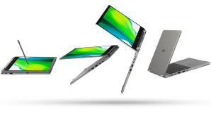 Acer Spin 3 vor weißem Hintergrund©Acer