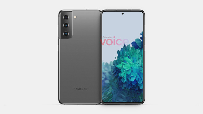 Samsung Galaxy S21 Leak©OnLeaks