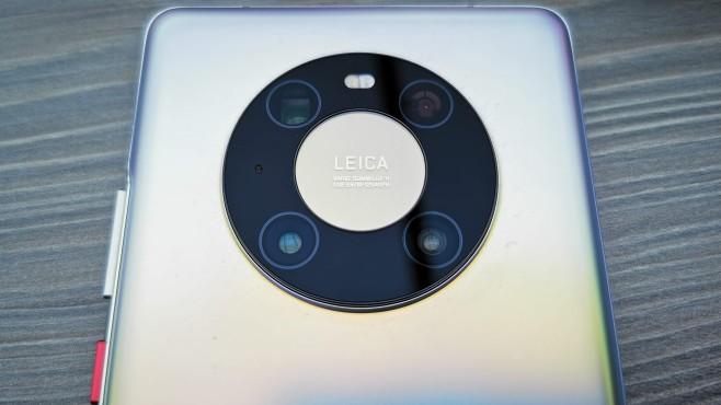 Kamera des Huawei Mate 40 Pro von oben©COMPUTER BILD, Michael Huch
