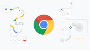 Grafik zeigt Google-Chrome-Logo und kompatible Geräte sowie Funktionen©Google