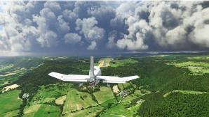 Aufnahme aus dem Microsoft Flight SImulator 2020©Microsoft