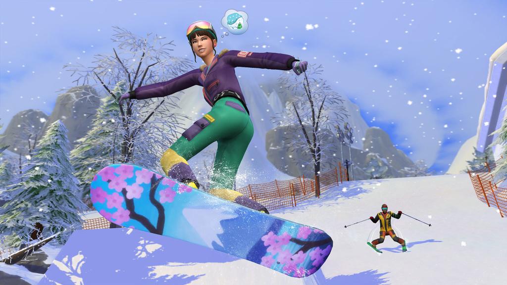 Die Sims 4: Neue Erweiterung schickt Spieler ins verschneite Japan