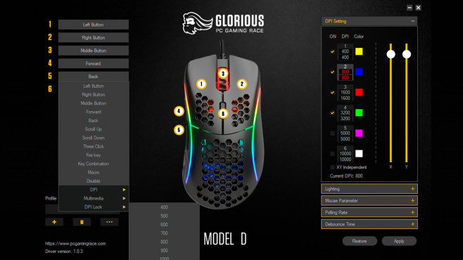 Glorious PC Gaming Race Model D-: Test©COMPUTER BILD