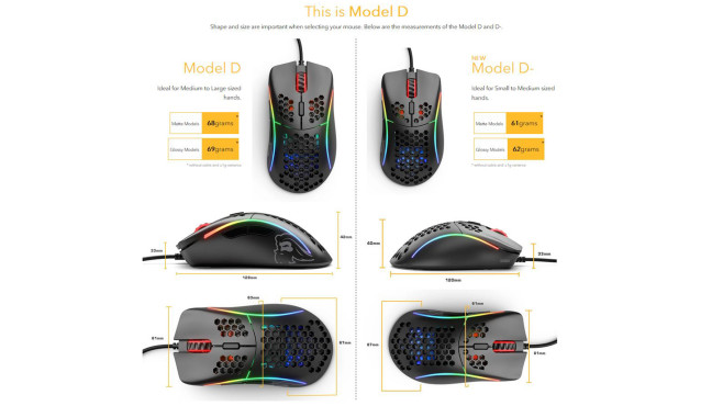 Glorious PC Gaming Race Model D-: Test©Glorious