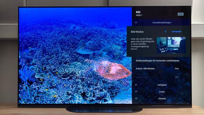 Der neue Sony KD-48A9 im Test: Kleiner OLED-TV mit großem Sound©COMPUTER BILD