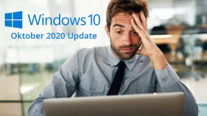 Windows 10 20H2 Probleme © Microsoft, iStock.com/PeopleImages