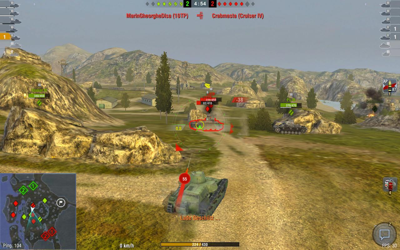 Screenshot 1 - World of Tanks Blitz (Mac)