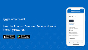 Die neue App Amazon Shopper Panel © Amazon