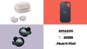 Amazon, Media Markt, Saturn: Top-Deals des Tages! © Amazon, Media Markt, Saturn, Bang & Olufsen, Jabra, SanDisk