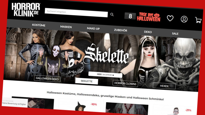 Horrorklinik:10 Prozent sparen zu Halloween©Horrorklinik.de