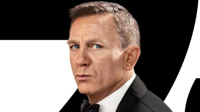 Daniel Craig vor 007-Logo©MGM