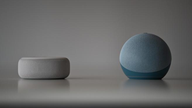 Amazon Echo Dot, Vergleich mit dem Vorgänger©Amazon