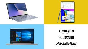 Amazon, Media Markt, Saturn: Top-Deals des Tages!©Amazon, Media Markt, Saturn, Samsung, Asus, Lenovo