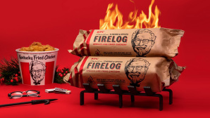 KFC Holzscheit©KFC, Walmart