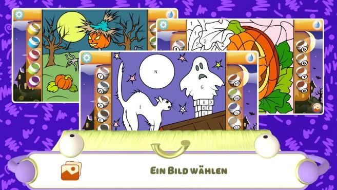 Apps Halloween Malbuch 2020 Test©Kedronic