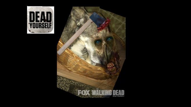 Dead Yourself the Walking dead Halloween Apps©Fox Computer BILD