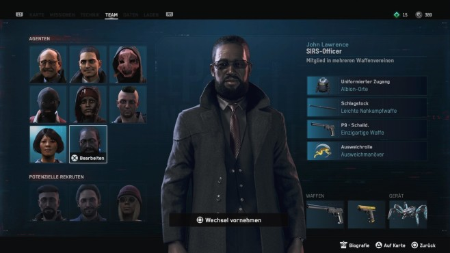Watch Dogs – Legion: Charakterwahl © Ubisoft