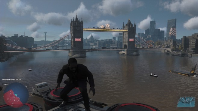 Watch Dogs – Legion: London Bridge © Ubisoft