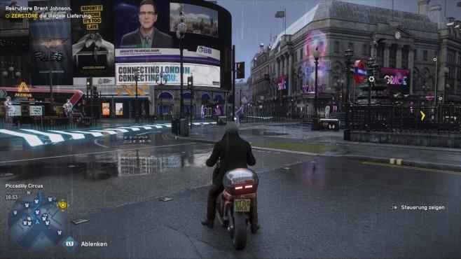 Watch Dogs – Legion: Motorradfahrer©Ubisoft