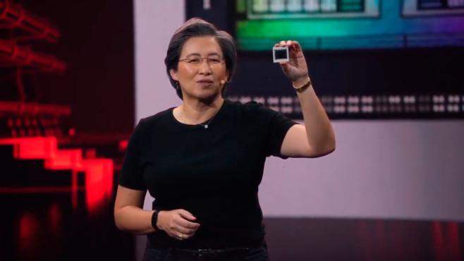 Lisa Su präsentiert Radeon RX 6900 XT©COMPUTER BILD