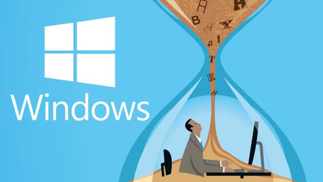 Windows 10 und XP: Verlangsamen viele Schriftarten das Booten?©iStock.com/dane_mark, Microsoft