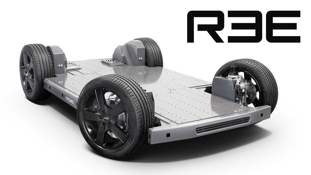 Ree Automotive: Elektrisches Auto aus Israel – mit Skateboard-Plattform!