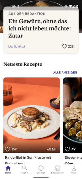 Kitchen Stories – Rezepte & Kochen (Android-App)