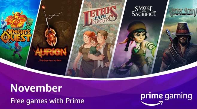 Prime Gaming Oktober©Amazon