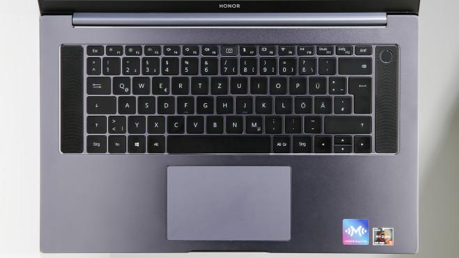 Honor Magicbook Pro Tastatur und Touchpad©COMPUTER BILD