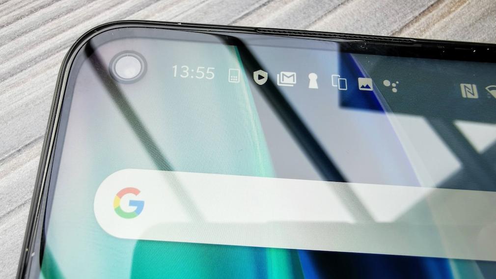 Frontkamera des OnePlus Nord N10 5G