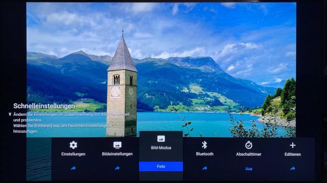 Bildmodus des Sony ZH8 zur Fotowiedergabe©COMPUTER BILD