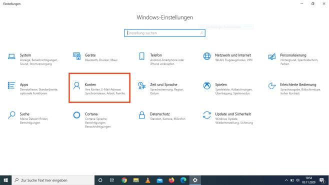 Windows 10: Neues Benutzerkonto anlegen©COMPUTER BILD