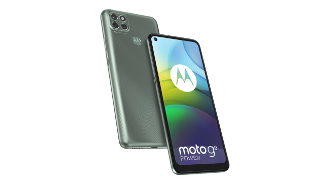Motorola Moto G9 Power von vorn und hinten©Motorola