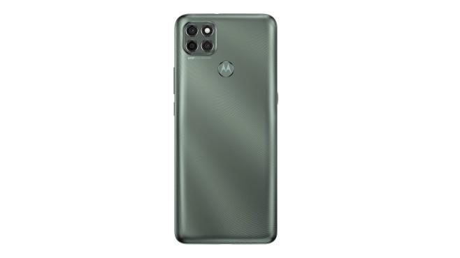 Rückseite des Motorola Moto G9 Plus©Motorola