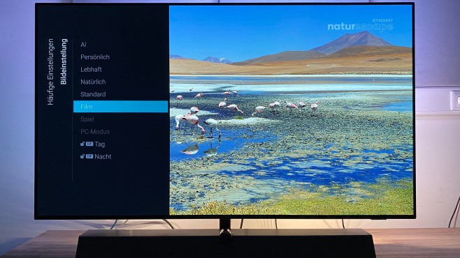 Im Film-Modus zeigte der Philips OLED935 im Test die beste Bildqualität.©COMPUTER BILD