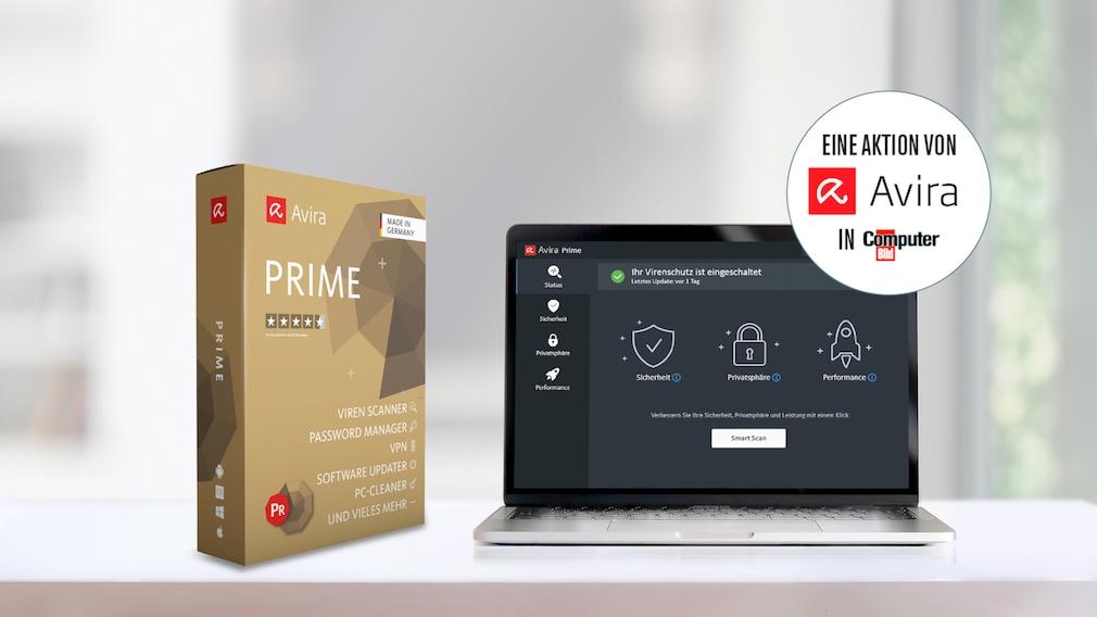 Avira Prime für 19,95 Euro