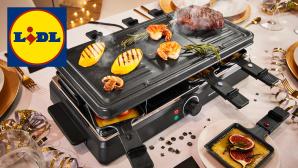 Raclette bei Lidl im Angebot: G�nstiges Modell von Silvercrest beim Discounter©Lidl