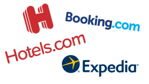 Hotel.com, Booking.com und Expedia © Hotel.com, Booking.com, Expedia
