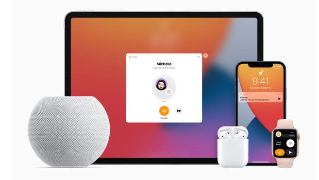 Apple HomePod mini, Intercom © Apple