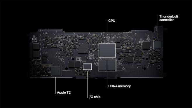 Apple MacBook Pro 2020 M1 Hauptplatine©Apple