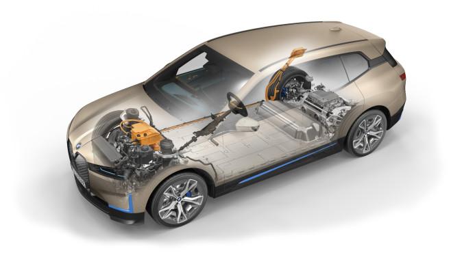 BMW-Antrieb der fünften Generation©BMW
