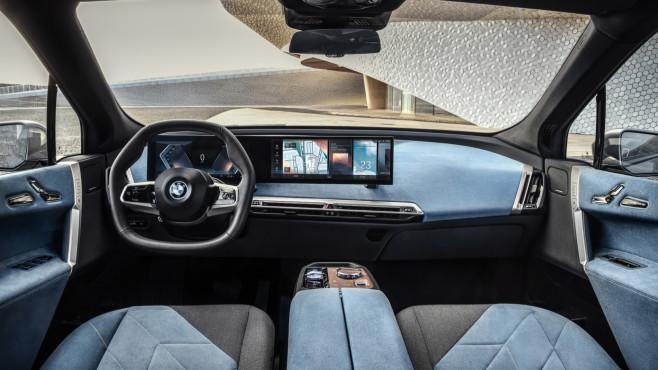 BMW iX Innenraum©BMW