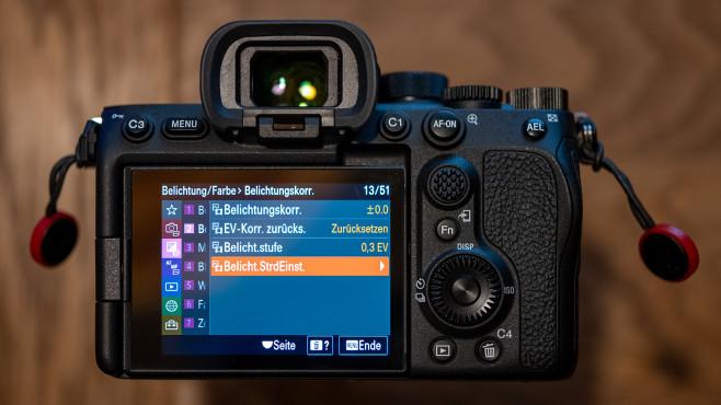 Sony Alpha 7S III: Neues Kameramenü©COMPUTER BILD