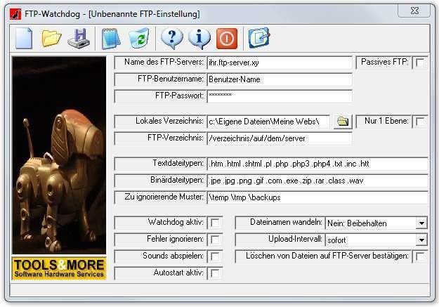 Screenshot 1 - FTP-Watchdog