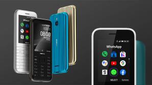 Nokia 6300 4G und Nokia 8000 4G©HMD Global