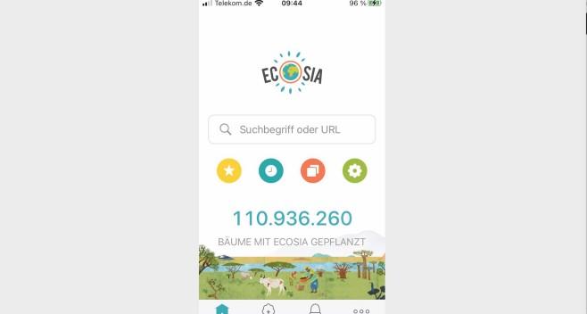 Ecosia Öko Suchmaschine©Computer BILD