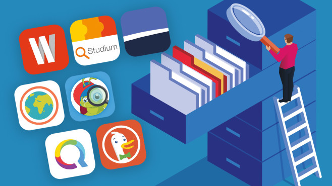 Gratis-Apps im Test: Suchmaschinen 2020©iStock.com/sesame COMPUTER BILD