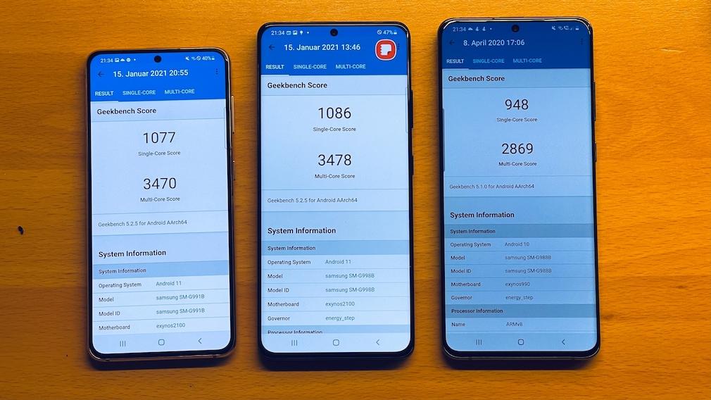 Samsung Galaxy S21: Drei Größen, zwei Tele-Kameras, ein neuer Super-Prozessor Galaxy S21 Ultra 5G (Ausschnitt aus geleaktem-Samsung-Teaser, publiziert von )