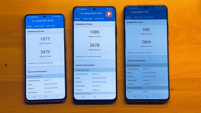 Samsung Galaxy S21: Drei Größen, zwei Tele-Kameras, ein neuer Super-Prozessor Galaxy S21 Ultra 5G (Ausschnitt aus geleaktem-Samsung-Teaser, publiziert von )©COMPUTER BILD